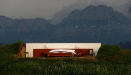 Ξενοδοχείο 0 Αστέρων στην Ελβετία χωρίς Τοίχους!