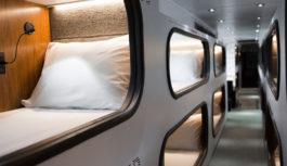 "Cabin: ""Ξενοδοχείο"" μεταφέρει επιβάτες μεταξύ Σαν Φρανσίσκο – Λος Άντζελες"