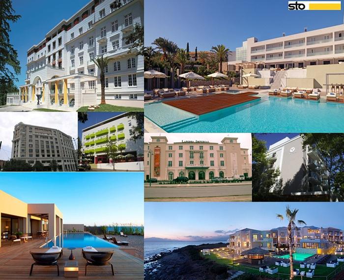 Ξενοδοχεία με υλικά StoHellas
