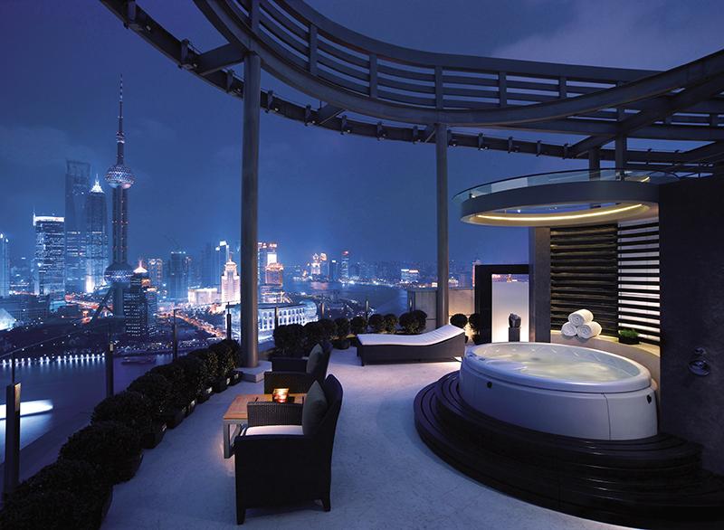 Hyatt on the Bund Hotel, Shangai