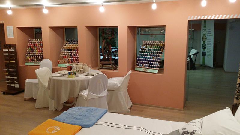 Crist – Bed Linen Industry: Ανακαίνιση show room