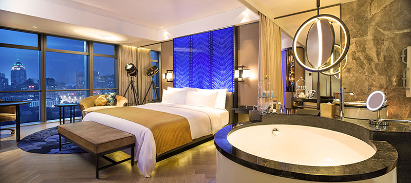 W Beijing Chang'an - Spectacular Room 北京长安街W酒店-壮美客房