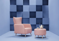 Missana launches its new armchair inspired by the Lewis Carroll story 'Alice in Wonderland'