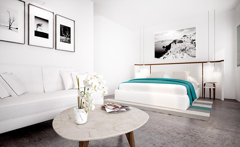 Grace Santorini_Grace Suite bedroom