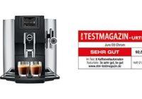 Το περιοδικό Etc – Test magazin απένειμε εξαιρετική διάκριση στην υπεραυτόματη μηχανή καφέ JURAE8 Chrome!