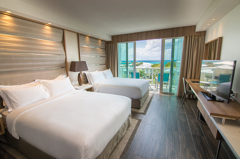 Hilton at Resorts World Bimini Double Queen Guest Room