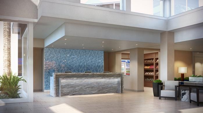 Hilton Garden Inn San Diego Mission Valley Stadium Hotel Design