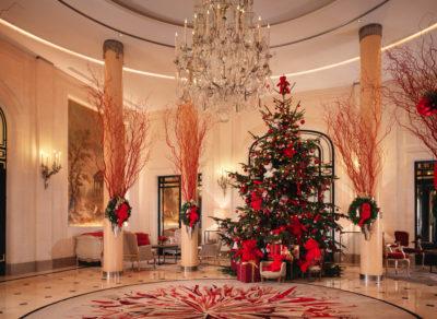 Τα πιο…. Χριστουγεννιάτικα Lobby ξενοδοχείων στον κόσμο