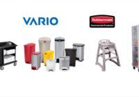 Η Vario καλωσορίζει τα προϊόντα Rubbermaid στην γκάμα της!