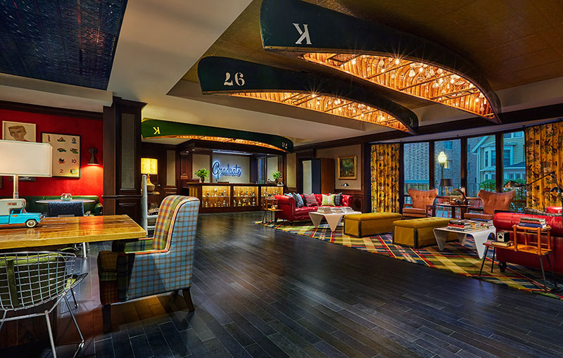 Graduate madison hotel usa hotel design magazine for Design hotel usa