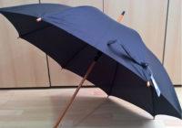 Ξύλινη αυτόματη ομπρέλα από την J&E UMBRELLAS