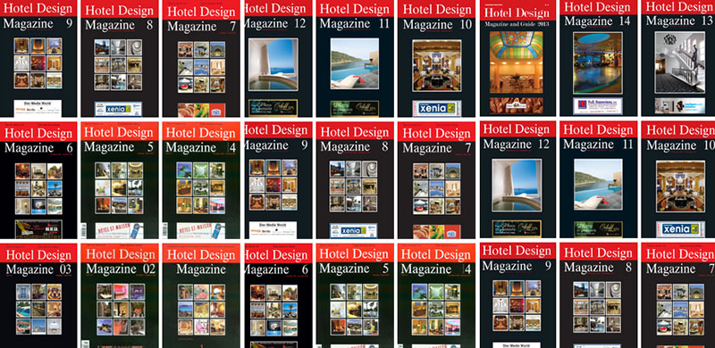 Προβληθείτε στο Hotel Design Magazine and Guide!