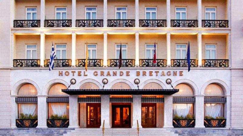 """Το ξενοδοχείο """"Μεγάλη Βρεταννία"""" στην χρυσή λίστα του Condé Nast Traveler"""
