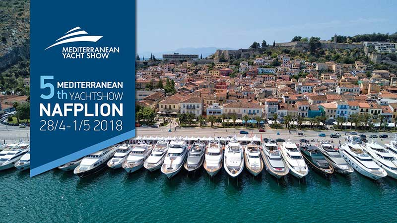 Η TOG & TOG – Hotels & Yachting στο 5ο Mediterranean Yacht Show