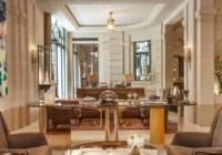 Ο Λάγκερφελντ σχεδίασε τις σουίτες του Hotel de Crillon στο Παρίσι