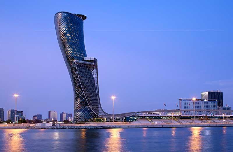 Η Hyatt ανακοινώνει τα σχέδια της για το Andaz Capital Gate στο Abu Dahbi