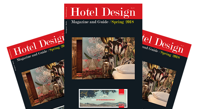 Διαβάστε το Hotel Design Magazine and Guide No 21!