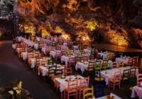 Ένα μοναδικό εστιατόριο μέσα σε σπηλιά!