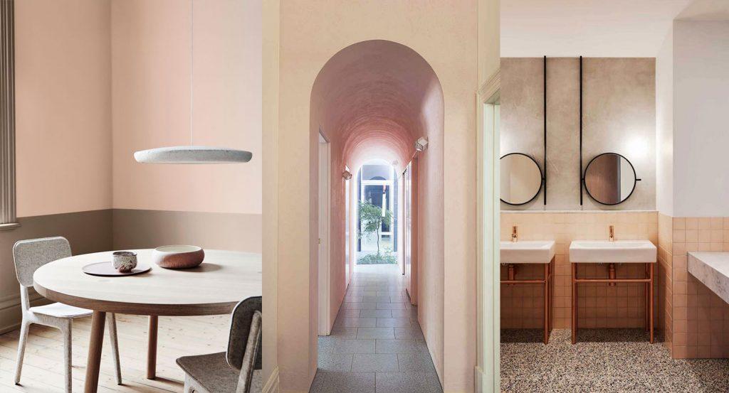 Interior Color Trends: Cantaloupe, το χρώμα που κερδίζει έδαφος