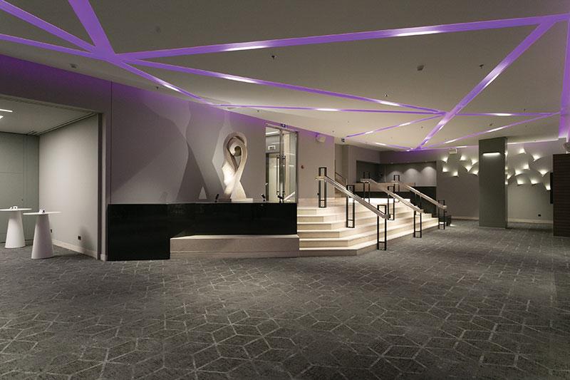 Ανακαίνιση Συνεδριακού κέντρου - Ballroom / Crowne Plaza Athens 5*