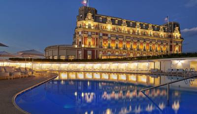 Hotel Du Palais in Biarritz
