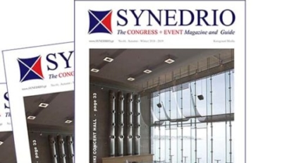 Έχετε αίθουσες εκδηλώσεων και συνεδρίων;  Διαβάστε το SYNEDRIO – Congress + Event Magazine!