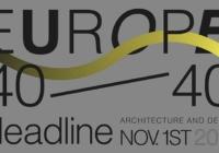 Europe 40 Under 40®: Βράβευση των 40 πιο ταλαντούχων αρχιτεκτόνων και βιομηχανικών σχεδιαστών