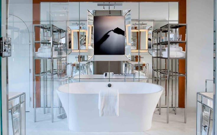 Τα μπάνια ξενοδοχείων που ξεχωρίζουν ανά τον κόσμο