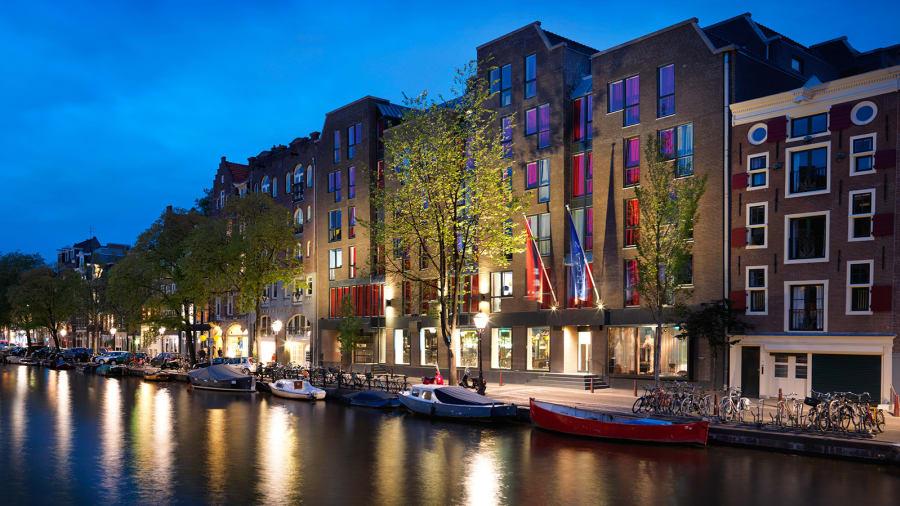 Μοναδικά Ξενοδοχεία στα κανάλια του Άμστερνταμ