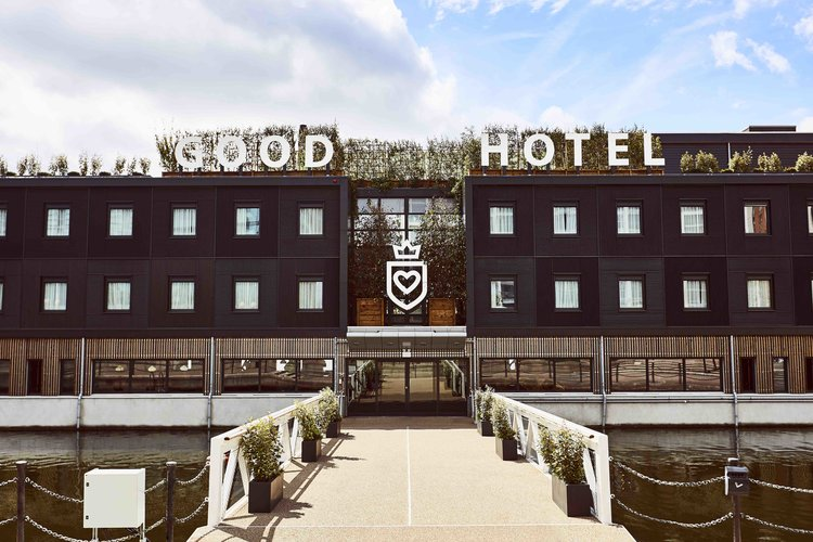 Μοναδικό Hotel design concept no3: Good Hotel Group