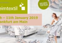 Heimtextil 2019: Δυναμική αρχή για τη νέα σαιζόν στον τομέα επίπλωσης δίνει ελπίδες για ένα κερδοφόρο έτος