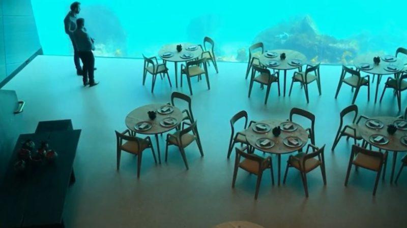 Under... the sea: Το πρώτο υποβρύχιο εστιατόριο της Ευρώπης κάνει θραύση!