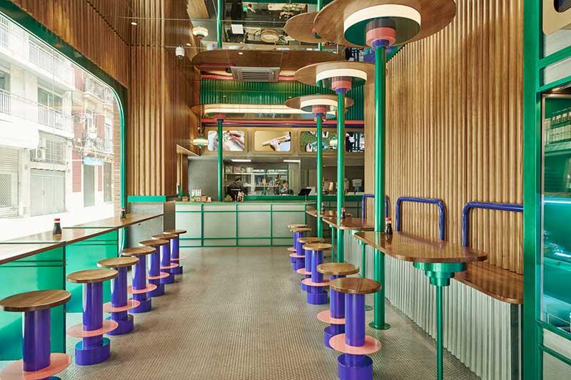 Kento Shop, Valencia: Όταν ο μίνιμαλ Ιαπωνικός σχεδιασμός συναντά την πολύχρωμη Ισπανική Κουλτούρα
