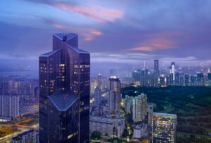 Το Park Hyatt Brand γιορτάζει το ντεμπούτο του Park Hyatt Shenzhen