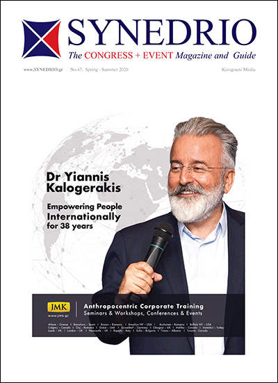 Διαβάστε το SYNEDRIO - Congress + Event Magazine and Guide Νο 47
