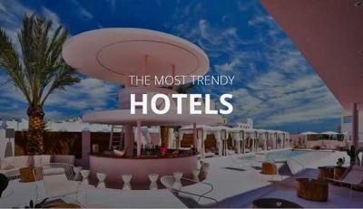 Τα πιο μοντέρνα ξενοδοχεία του 2020