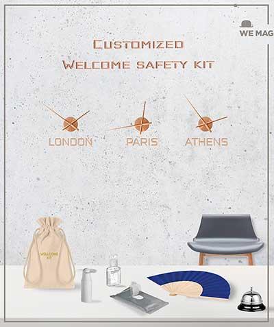 Η WE MAG προτείνει λύσεις για ένα ασφαλές και θερμό καλωσόρισμα