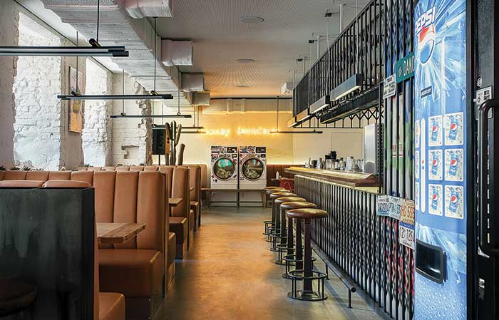 ZVD Restaurant: Pop design