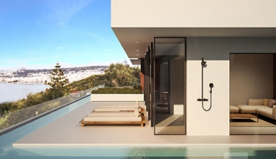 Οι zeropixel architects σχεδίασαν τις Golden Villas στα Χανιά