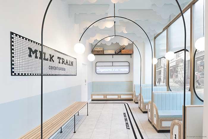 MILK TRAIN: Παγωτό & Art deco
