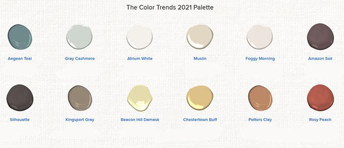 Ικανοποιήστε το πνεύμα με τις χαλαρωτικές και ηλιόλουστες αποχρώσεις των Color Trends 2021