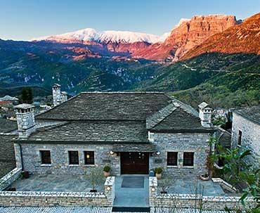 Ένα ελληνικό ορεινό ξενοδοχείο για τρίτη φοράστην κορυφή του κόσμου ως World's Leading Eco-Lodge