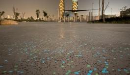 Τα αυτοφωτιζόμενα πετρώματα της Luxart με την τεχνολογία της Novamix στην αρχιτεκτονική διαμόρφωση των εξωτερικών χώρων