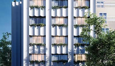 Στο Κολωνάκι, αναμένεται να λειτουργήσει στο πρώτο μισό του 2022 το ολοκαίνουριο ξενοδοχείο Anda Hotel Athens