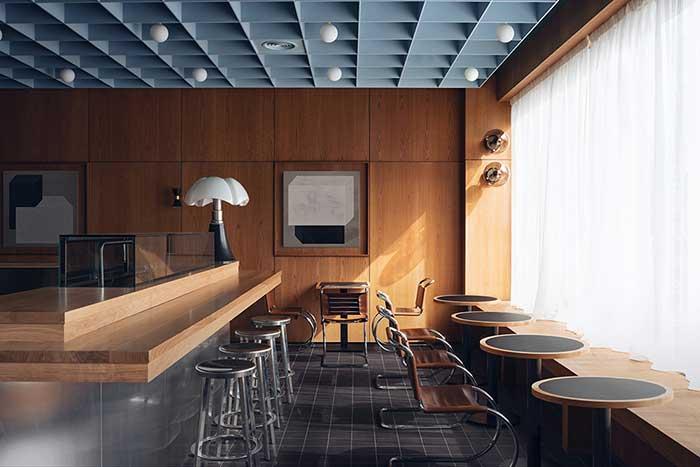 Το Child Studio μετατρέπει ένα πρώην ταχυδρομείο του Λονδίνου της δεκαετίας του 1960 σε ένα σύγχρονο ιαπωνικό εστιατόριο.