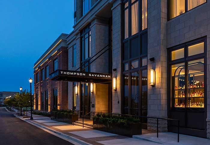 Το Thompson Savannah κάνει το ντεμπούτο του, φέρνοντας ένα σύγχρονο ξενοδοχείο στο Eastern Wharf