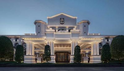 Suning Zhongshan Golf Resort, Nanjing: Κάθε τούβλο μπορεί να φέρει τα σημάδια του παλιού βασιλικού παλατιού