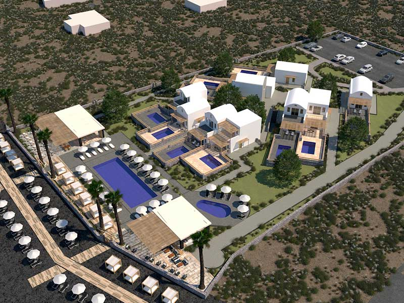 H Σαντορίνη υποδέχεται το πρώτο Hilton ξενοδοχείο με το Sea Breeze